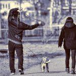 lopen met je hond lange lijn